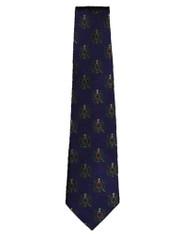 Omega Psi Phi Fraternity Neck Tie- Organization Crest