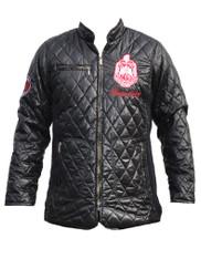 Delta Sigma Theta Sorority Padded Jacket- Black