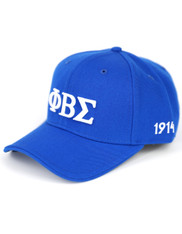 Phi Beta Sigma Fraternity Classic Hat-Blue