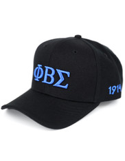 Phi Beta Sigma Fraternity Classic Hat-Black