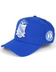 Phi Beta Sigma Fraternity Crest Hat- Style 2-Blue