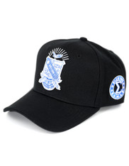 Phi Beta Sigma Fraternity Crest Hat- Style 2-Black