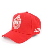 Delta Sigma Theta Sorority Crest Hat-Red