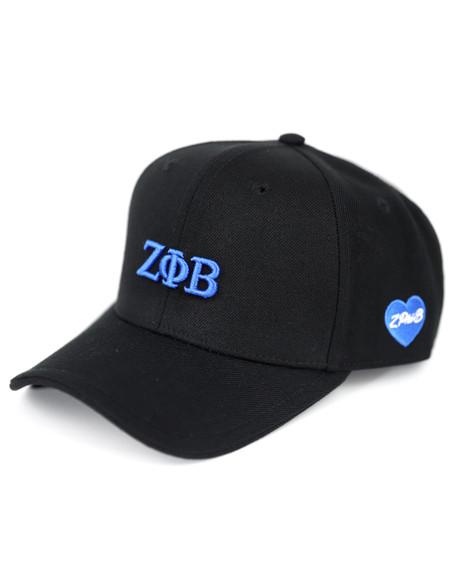 Zeta Phi Beta Sorority Classic Hat-Black