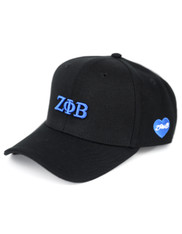 Zeta Phi Beta Sorority Classic Hat-Black