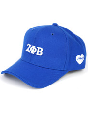 Zeta Phi Beta Sorority Classic Hat-Blue