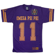 Omega Psi Phi Fraternity Jersey Shirt- Style 1