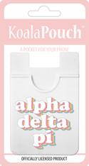 Alpha Delta Pi ADPI Sorority Koala Pouch- Retro