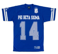 Phi Beta Sigma Fraternity Jersey Shirt- Style 1