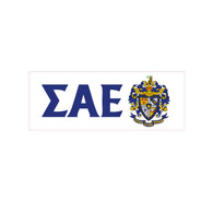 Sigma Alpha Epsilon SAE Fraternity Window Cling