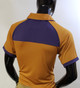 Omega Psi Phi Fraternity Dri-Fit Polo- Old Gold