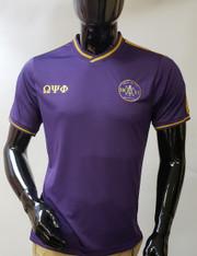 Omega Psi Phi Fraternity Soccer Jersey-Purple