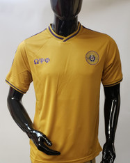 Omega Psi Phi Fraternity Soccer Jersey- Old Gold