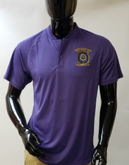 Omega Psi Phi Fraternity Blade Collar Polo