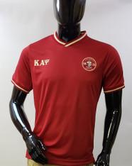 Kappa Alpha Psi Fraternity Soccer Jersey-Crimson
