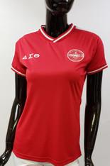 Delta Sigma Theta Sorority Soccer Jersey-Red