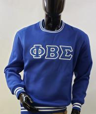 Phi Beta Sigma Fraternity Crewneck-Blue
