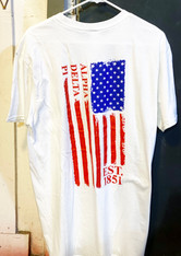 Alpha Delta Pi ADPI Sorority American Flag Shirt