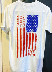 Kappa Alpha Theta Sorority American Flag Shirt
