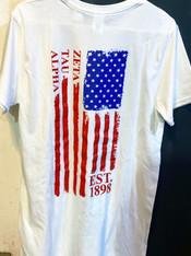 Zeta Tau Alpha ZTA Sorority American Flag Shirt