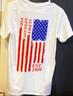 Alpha Epsilon Phi AEPHI Sorority American Flag Shirt-Back