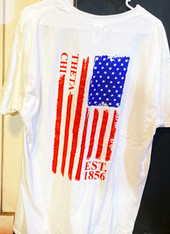 Theta Chi Fraternity American Flag Shirt
