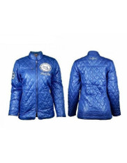Zeta Phi Beta Sorority Padded Jacket- Blue