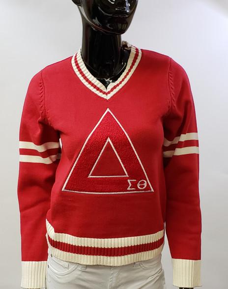Delta Sigma Theta Sorority Letterman Sweater