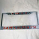 Kappa Alpha Psi Founding Year License Plate Frame-Style 2-Silver/Crimson