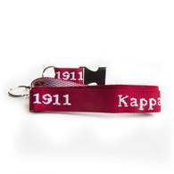Kappa Alpha Psi Fraternity Lanyard/ Key chain- Style 1