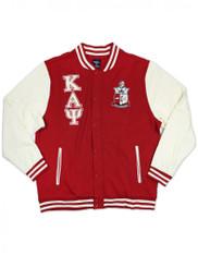 Kappa Alpha Psi Fraternity Fleece Jacket-Front