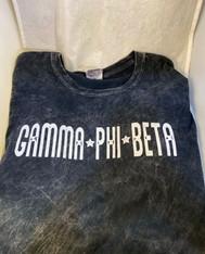 Gamma Phi Beta Sorority Mineral Wash Shirt