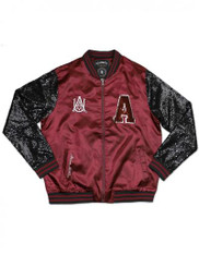 Alabama A&M University Sequin Satin Jacket