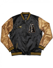 Alabama State University Sequin Satin Jacket