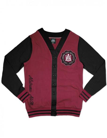 Alabama A&M University Lightweight Cardigan- Style 2