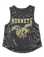 Alabama State University Sequin Tank Top-Mascot