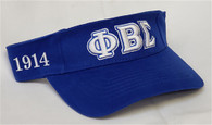 Phi Beta Sigma Fraternity Visor Hat Cap