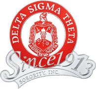 Delta Sigma Theta Sorority Since 1913 Emblem