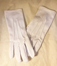 Plain White Gloves