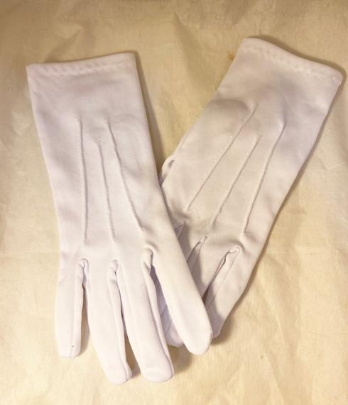 Plain White Gloves