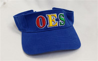 Order of the Eastern OES Visor- Blue