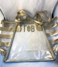 Gamma Phi Beta Sorority Clear Tote Bag