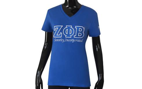Zeta Phi Beta Sorority Luxury Tee