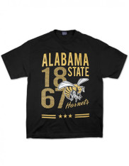 Alabama State University Founding Year Shirt with Mascot