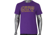 Omega Psi Phi Fraternity Luxury Tee