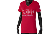 Delta Sigma Theta Sorority Luxury Tee