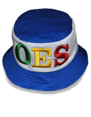 Order of the Eastern OES Star Bucket Hat with Stripe