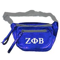 Zeta Phi Beta Sorority Embroidered Belt Bag/Fanny Pack