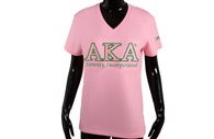 Alpha Kappa Alpha AKA Sorority Luxury Tee