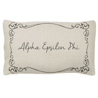 Alpha Epsilon Phi AEPHI Sorority Decorative Pillow